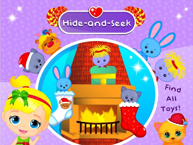 android Lily & Kitty Baby Christmas Screenshot 11