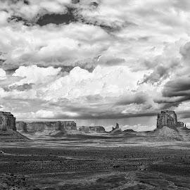 Monument Valley Park by Gosha L - Landscapes Travel