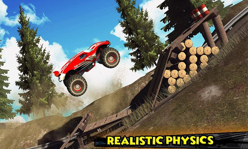 Monster Truck Rider 3D Screenshot 2