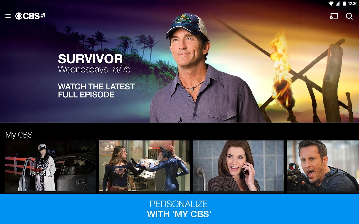 CBS Full Episodes and Live TV Screenshot 8