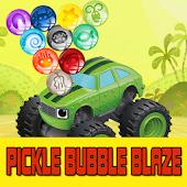 pickle shoot bubble blaze