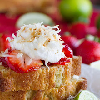 Strawberry Lime Shortcakes with Coconut Cream