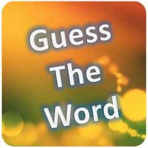 Word game. Guess the Words