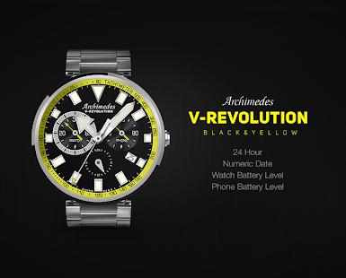 V-Revolution Black&Yellow