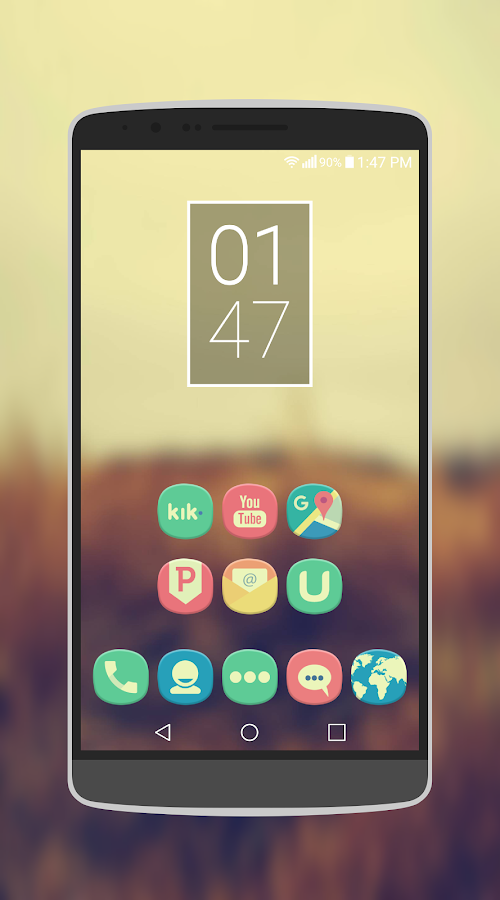 Classique Icon Pack Theme Screenshot 1
