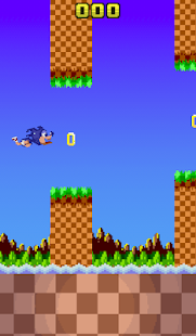Flappy Sanic & Friends - screenshot