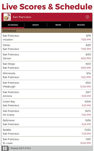 San Francisco Football Radio - screenshot