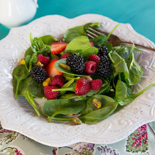 Spring Berry Salad with Maple Balsamic Vinaigrette