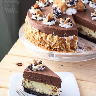Chocolate Cannoli Cheesecake Mousse Torte