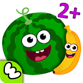 Download Funny Food Baby Learning Games for Toddlers Kids 2 APK on PC
