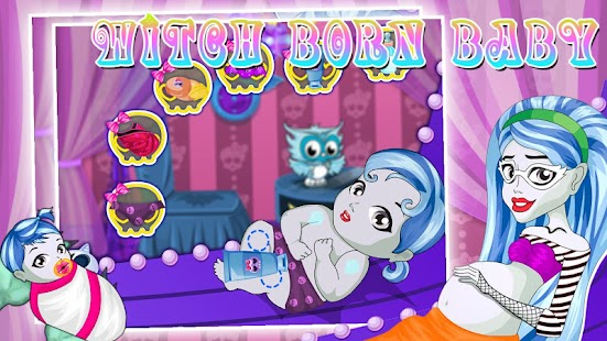 Witch born baby- screenshot