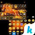 App Fire Horse Emoji Kika Keyboard APK for Kindle