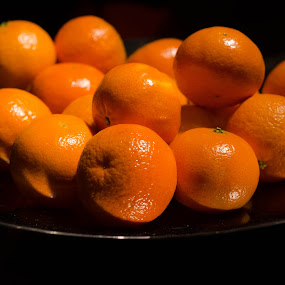 Mandarins by Mateo de la Vega - Food & Drink Fruits & Vegetables