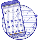 Download Drawing Note School Theme APK for Android Kitkat