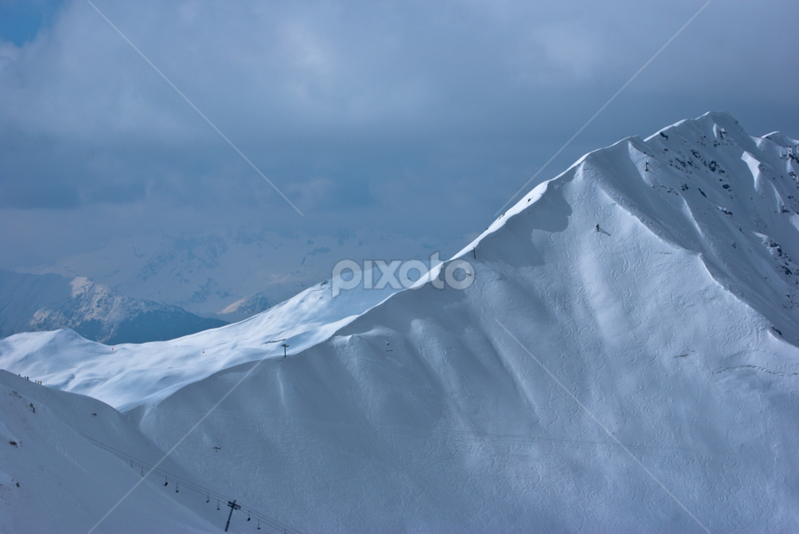 Slide by Mirna Abaffy - Landscapes Mountains & Hills ( wild, mountain, winter, nature, snow, snowbording, sport, landscapes )
