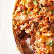 King Ranch Chicken Noodle Casserole