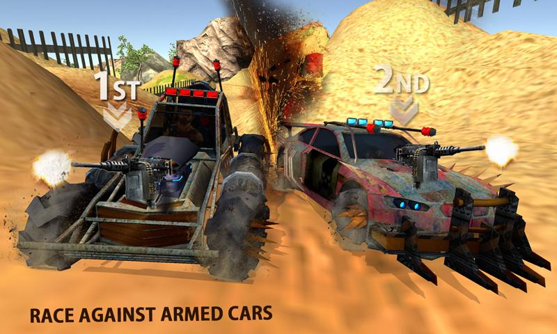 Buggy Car Race: Death Racing Screenshot 2