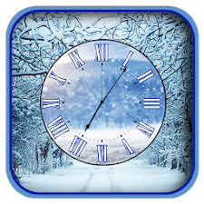 Winter Clock Live Wallpapers
