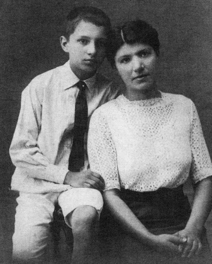 Born in 1901 in Zagreb, Rudolph was the only child of Mavro and Paula Matz.  This is a photograph of Rudolph and his mother when he was about twelve years old.