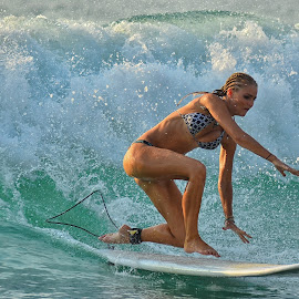 d&p by Ziyad Khaly - Sports & Fitness Surfing ( bali, girl, surfing, dreamland, beach )