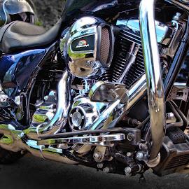 Harley Davidson Screaming Eagle by JR Hudson | Scenic Edge - Transportation Motorcycles ( harley davidson, harley davidson screaming eagle, motorcycle, screaming eagle )
