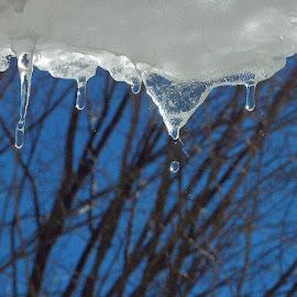 Snows melt. by Govindarajan Raghavan - Abstract Water Drops & Splashes