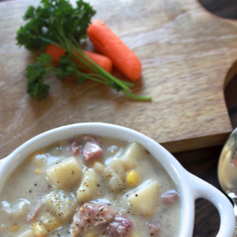 Ham, Potato & Corn Chowder