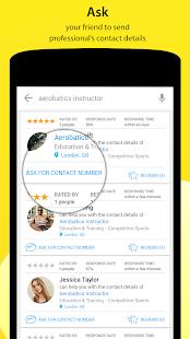 AskForPro - Finden Sie lokale vertrauenswürdige britische Profis android apps download