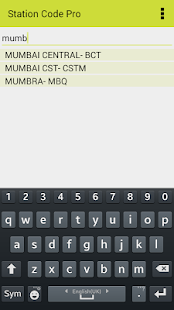 Indian Rail Station Code Pro - screenshot