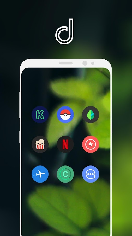 Delux UX Pixel - S8 Icon pack Screenshot 6
