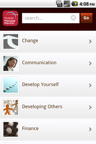 Mobile ManageMentor-Enterprise Screenshot