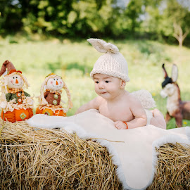 Happy baby by Klaudia Klu - Babies & Children Babies