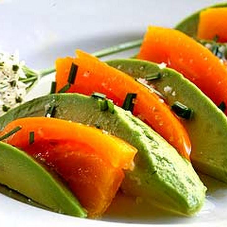 Avocado Salad with Heirloom Tomatoes