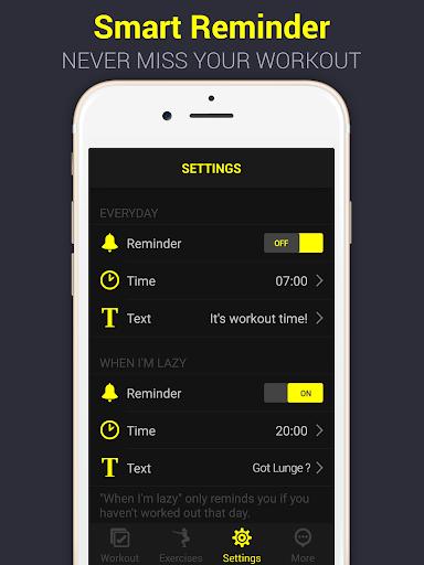 30 Day Lunge Challenge Pro - screenshot