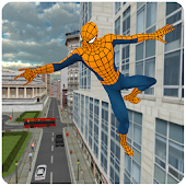 Download Strange Spider Hero Future War APK to PC