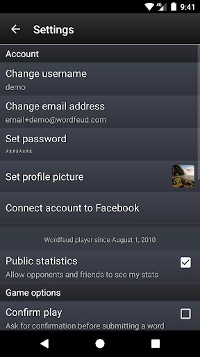 Wordfeud FREE screenshot 8