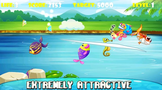 Ninja Fish – Fishing Cut, Fish Cutting Games APK screenshot thumbnail 2
