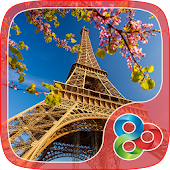 Free Download Eiffel Tower GO Launcher Theme APK for Samsung