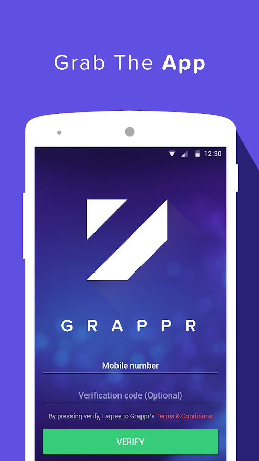 Grappr - Earn Talktime Rs.300 Screenshot