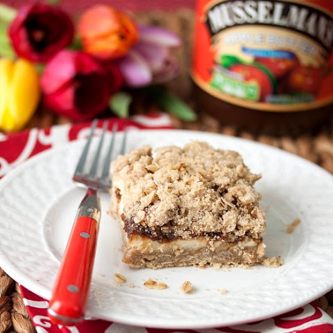 Oatmeal Apple Cheesecake Bars