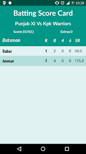 App Cricket Scorer apk for kindle fire