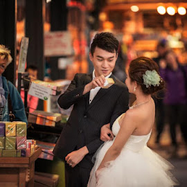 by JO Leong - Wedding Bride & Groom