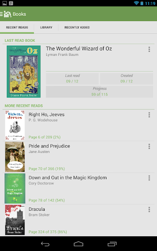 Aldiko Book Reader Premium screenshot 12