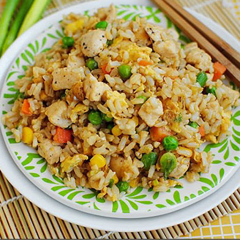 Scrumptuous Chicken Fried Rice
