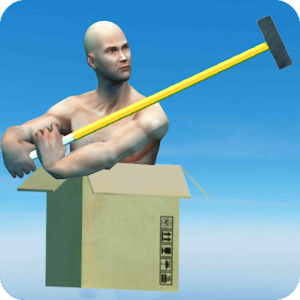 boxman Jump: ragdoll person box