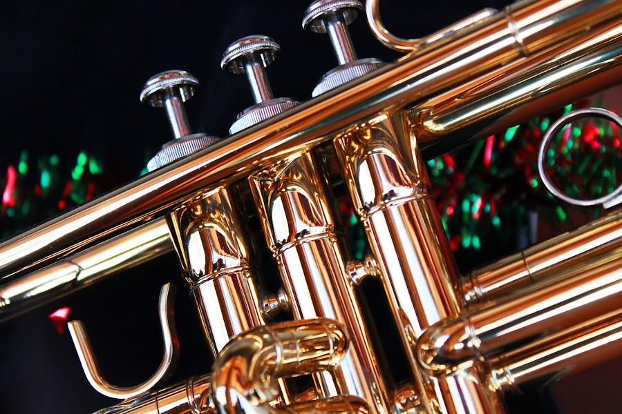 Trumpet by Jay Woolwine Photography - Artistic Objects Musical Instruments ( bugle, cornet, trumpet, horn, brass, instrument )