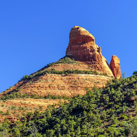 Red Rock Formation by David Walters - Landscapes Deserts ( az, nature, lumix fz200, red rock formation, sedona, landscape )