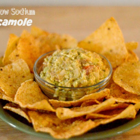 Low Sodium Guacamole