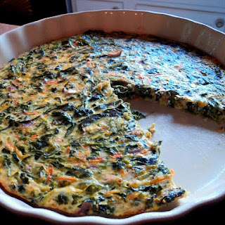 Healthy Spinach Quiche With Fresh Spinach Recipes