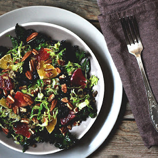 Brussels Sprout & Cranberry Salad